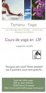 yoga lsf flyers